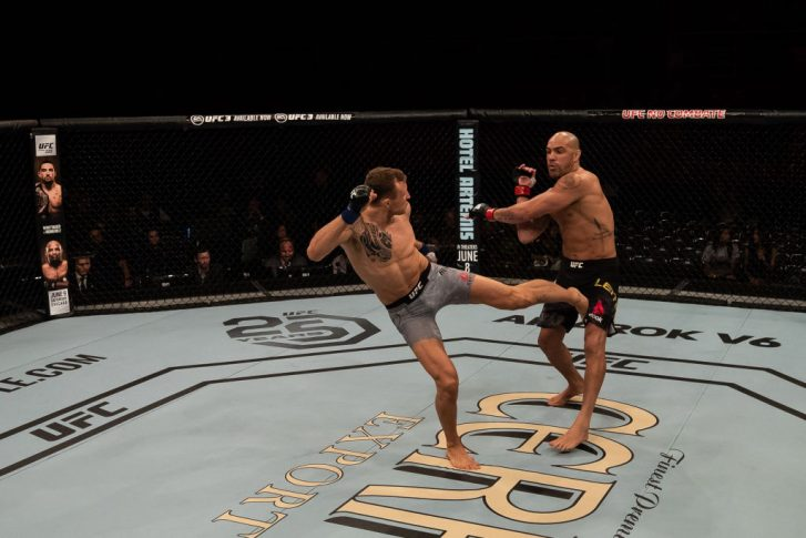 UFC 224:ターレス・レイチ vs. ジャック・ハーマンソン【ブラジル・リオデジャネイロ/2018年5月12日(Photo by Buda Mendes/Zuffa LLC/Zuffa LLC)】