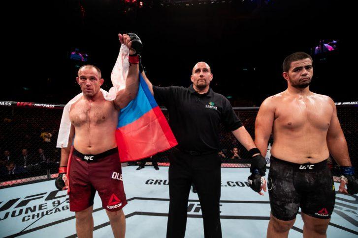 UFC 224:アレクセイ・オレイニク vs. ジュニオール・アルビニ【ブラジル・リオデジャネイロ/2018年5月12日(Photo by Buda Mendes/Zuffa LLC/Zuffa LLC)】