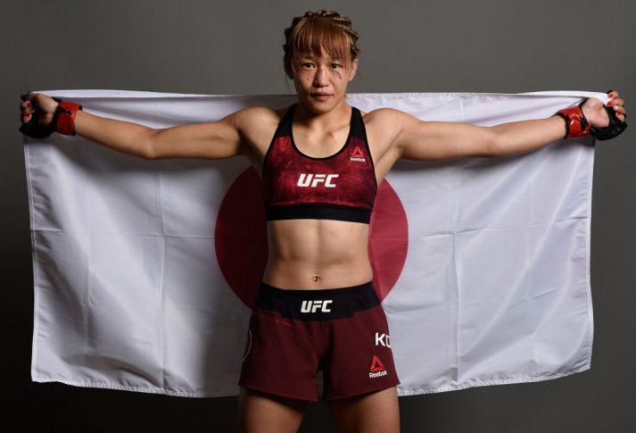 UFCファイトナイト・ジャパン:近藤朱里【さいたまスーパーアリーナ/日本(Photo by Mike Roach/Zuffa LLC/Zuffa LLC via Getty Images)】
