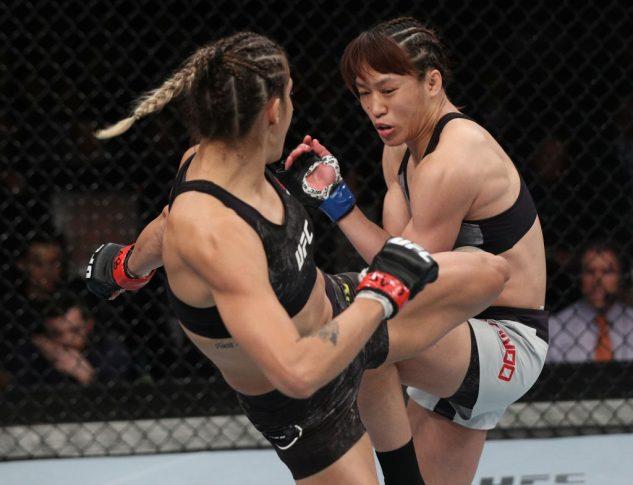 UFCファイトナイト・チリ:ポリアナ・ボテーリョ vs. 近藤朱里【チリ・サンティアゴ/2018年5月19日(Photo by Buda Mendes/Zuffa LLC/Zuffa LLC via Getty Images)】