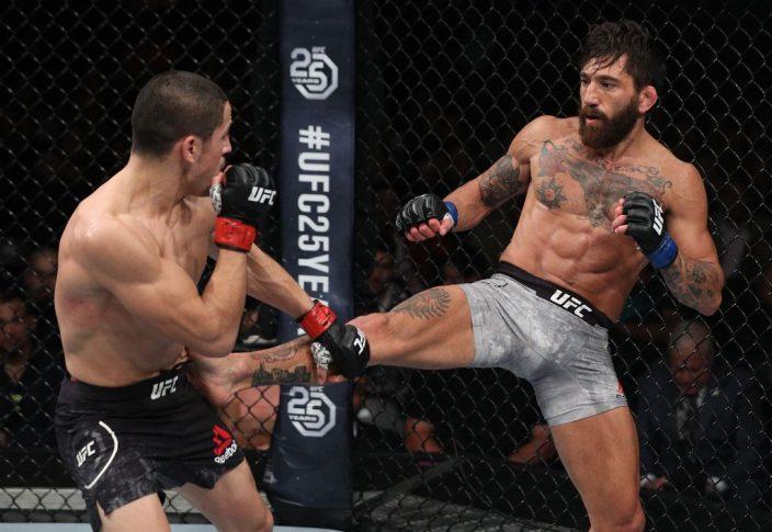 UFCファイトナイト・チリ:ディエゴ・リバス vs. グイド・カネッティ【チリ・サンティアゴ/2018年5月19日(Photo by Buda Mendes/Zuffa LLC/Zuffa LLC)】