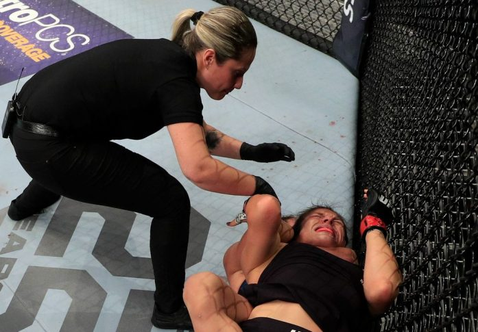 UFCファイトナイト・チリ:アレクサ・グラッソ vs. タティアナ・スアレス【チリ・サンティアゴ/2018年5月19日(Photo by Buda Mendes/Zuffa LLC/Zuffa LLC)】
