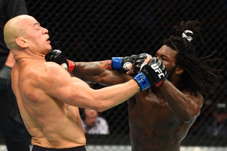 UFCファイトナイト・ユーティカ:デスモンド・グリーン vs. グレイゾン・チバウ【アメリカ・ニューヨーク州ユーティカ/2018年6月1日(Photo by Josh Hedges/Zuffa LLC/Zuffa LLC via Getty Images)】