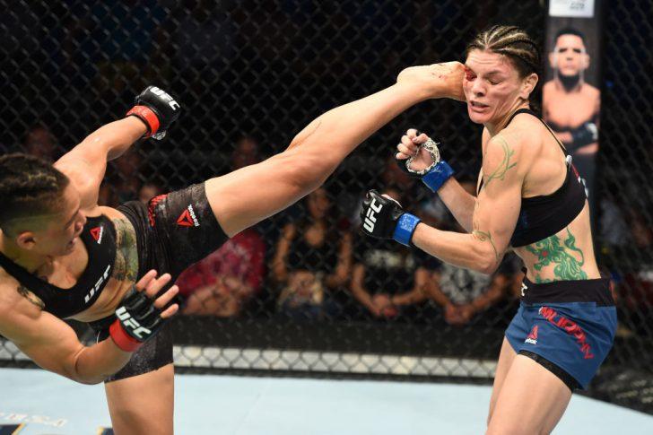 UFCファイトナイト・ユーティカ:シジャラ・ユーバンクス vs. ローレン・マーフィー【アメリカ・ニューヨーク州ユーティカ/2018年6月1日(Photo by Josh Hedges/Zuffa LLC/Zuffa LLC via Getty Images)】