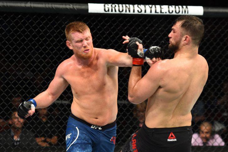 UFCファイトナイト・ユーティカ:ジアン・ヴィランテ vs. サム・アルビー【アメリカ・ニューヨーク州ユーティカ/2018年6月1日(Photo by Josh Hedges/Zuffa LLC/Zuffa LLC via Getty Images)】