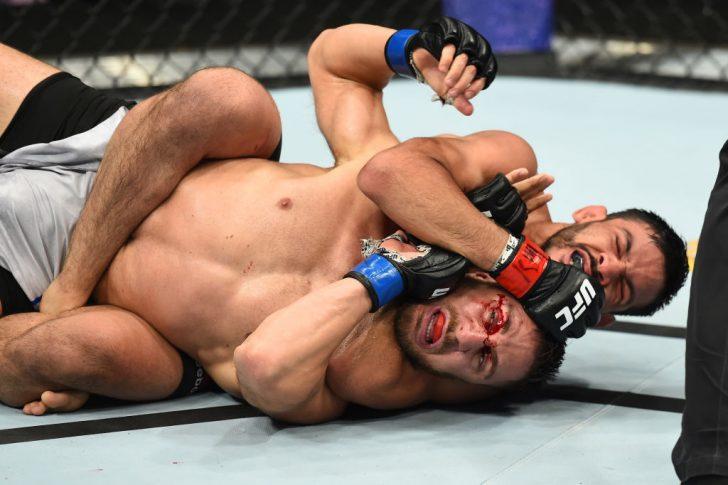 UFCファイトナイト・ユーティカ:フリオ・アルセ vs. ダニエル・テイムル【アメリカ・ニューヨーク州ユーティカ/2018年6月1日(Photo by Josh Hedges/Zuffa LLC/Zuffa LLC via Getty Images)】