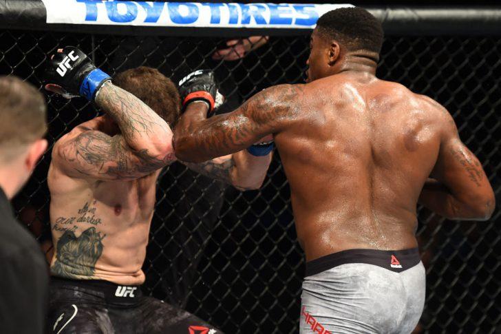 UFCファイトナイト・ユーティカ:ウォルト・ハリス vs. ダニエル・スピッツ【アメリカ・ニューヨーク州ユーティカ/2018年6月1日(Photo by Josh Hedges/Zuffa LLC/Zuffa LLC via Getty Images)】