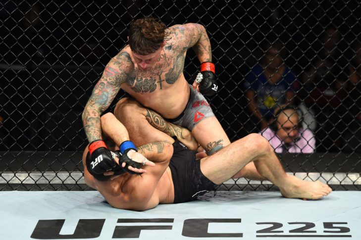UFCファイトナイト・ユーティカ:グレゴール・ガレスピー vs. ヴィンス・ピシェル【アメリカ・ニューヨーク州ユーティカ/2018年6月1日(Photo by Josh Hedges/Zuffa LLC/Zuffa LLC via Getty Images)】