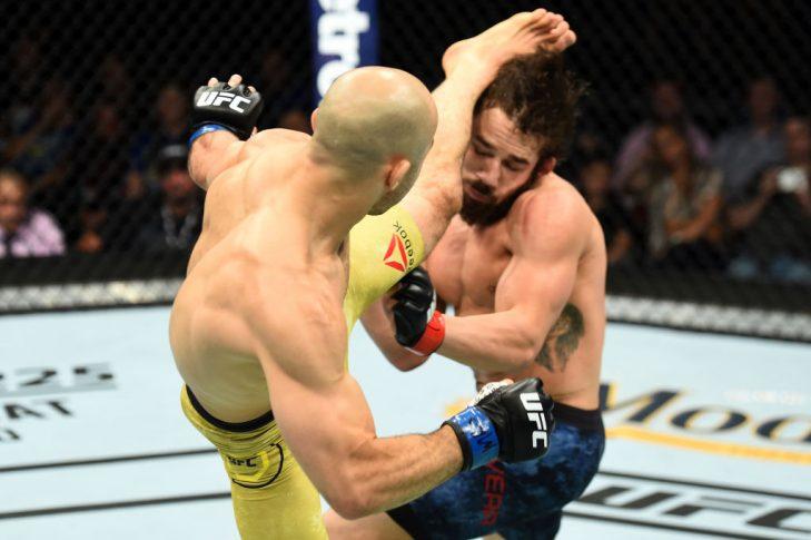 UFCファイトナイト・ユーティカ:ジミー・リベラ vs. マルロン・モラエス【アメリカ・ニューヨーク州ユーティカ/2018年6月1日(Photo by Josh Hedges/Zuffa LLC/Zuffa LLC via Getty Images)】