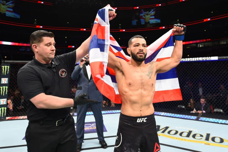 UFC 225:マイク・サンチアゴ vs. ダン・イゲ【アメリカ・イリノイ州シカゴ/2018年6月9日(Photo by Josh Hedges/Zuffa LLC/Zuffa LLC via Getty Images)】