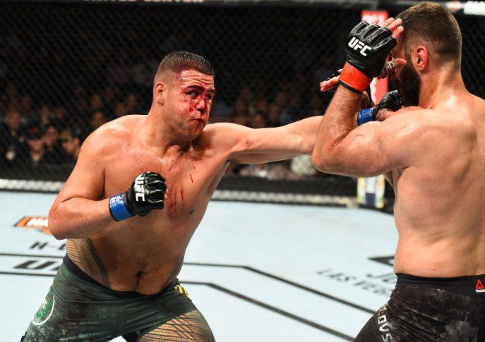 UFC 225:アンドレイ・アルロフスキー vs. タイ・トゥイバサ【アメリカ・イリノイ州シカゴ/2018年6月9日(Photo by Josh Hedges/Zuffa LLC/Zuffa LLC via Getty Images)】