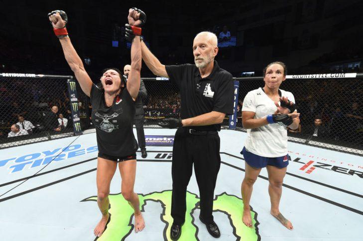 UFCファイトナイト・アイダホ:キャット・ジンガノ vs. マリオン・レノー【アメリカ・アイダホ州ボイシ/2018年7月14日(Photo by Josh Hedges/Zuffa LLC/Zuffa LLC via Getty Images)】
