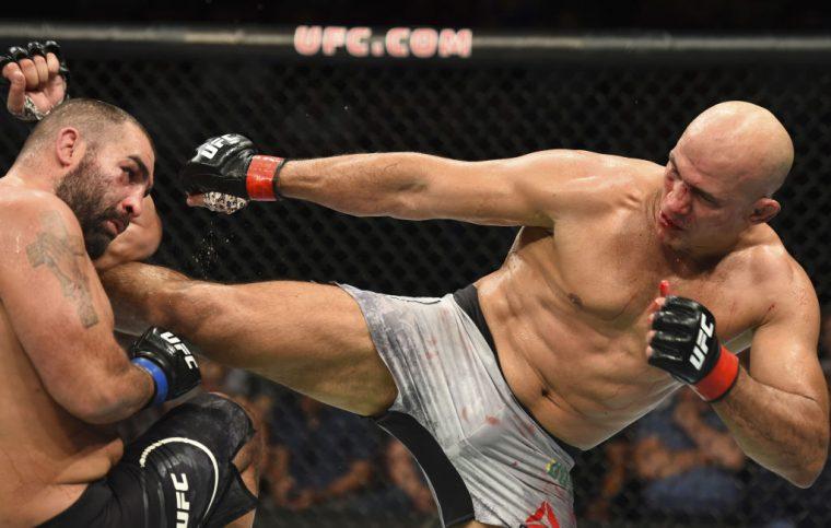 UFCファイトナイト・アイダホ:ジュニオール・ドス・サントス vs. ブラゴイ・イワノフ【アメリカ・アイダホ州ボイシ/2018年7月14日(Photo by Josh Hedges/Zuffa LLC/Zuffa LLC via Getty Images)】