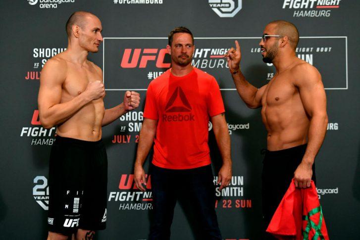 UFCファイトナイト・ハンブルグ:フェイスオフに臨んだヴィトー ...