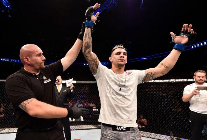 UFCファイトナイト・ハンブルク:ジャスティン・レデット vs. アレクサンダル・ラキッチ【ドイツ・ハンブルク/2018年7月22日(Photo by Jeff Bottari/Zuffa LLC/Zuffa LLC via Getty Images)】
