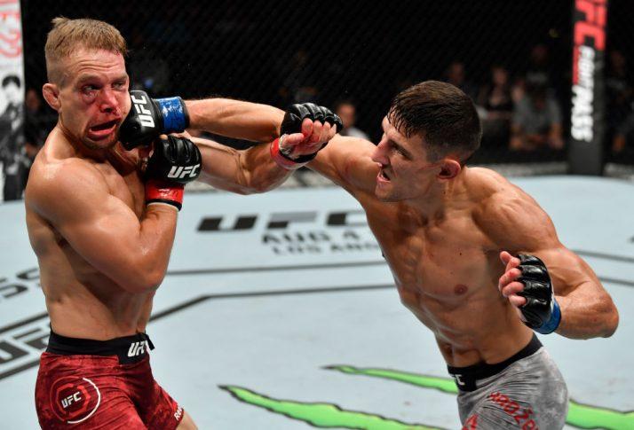UFCファイトナイト・ハンブルク:ニック・ハイン vs. ダミア・ハゾビック【ドイツ・ハンブルク/2018年7月22日(Photo by Jeff Bottari/Zuffa LLC/Zuffa LLC via Getty Images)】