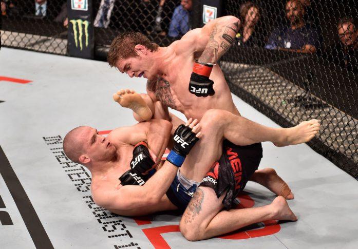 UFCファイトナイト・カルガリー:ジョーダン・メイン vs. アレックス・モロノ【カナダ・アルバータ州カルガリー/2018年7月28日(Photo by Jeff Bottari/Zuffa LLC/Zuffa LLC via Getty Images)】