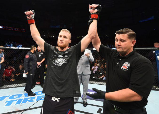 UFCファイトナイト・リンカーン:ジャスティン・ゲイジー vs. ジェームズ・ビック【アメリカ・ネブラスカ州リンカーン/2018年8月25日(Photo by Josh Hedges/Zuffa LLC/Zuffa LLC via Getty Images)】