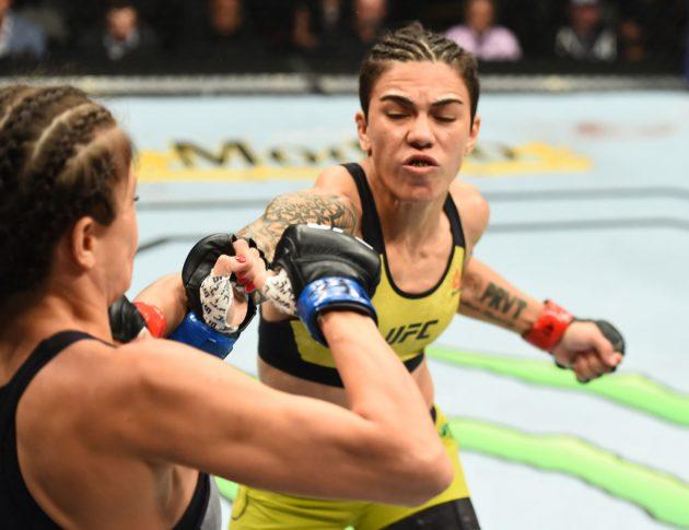 UFC 228:ジェシカ・アンドラージ vs. カロリーナ・コバルケビッチ【アメリカ・テキサス州ダラス/2018年9月8日(Photo by Josh Hedges/Zuffa LLC/Zuffa LLC via Getty Images)】