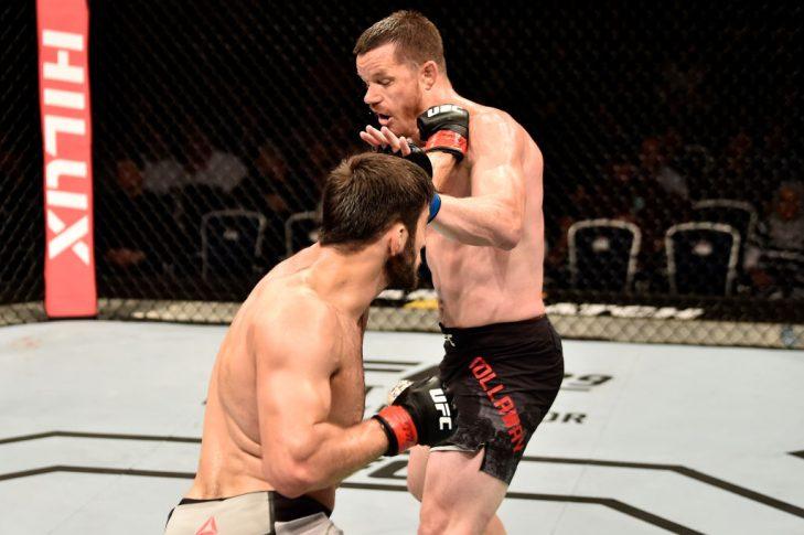 UFCファイトナイト・モスクワ:ハリド・ムルタザリエフ vs. C.B.ダラウェイ【ロシア・モスクワ/2018年9月15日(Photo by Jeff Bottari/Zuffa LLC/Zuffa LLC via Getty Images)】