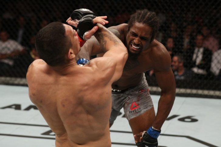 UFCファイトナイト・サンパウロ:ルイス・エンリケ vs. ライアン・スパン【ブラジル・サンパウロ/2018年9月22日(Photo by Buda Mendes/Zuffa LLC/Zuffa LLC via Getty Images)】