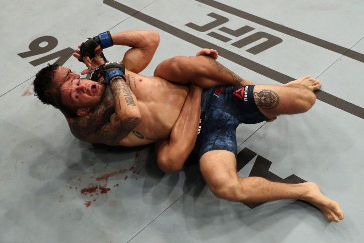 UFCファイトナイト・サンパウロ:チャールズ・オリベイラ vs. クリストス・ジアゴス【ブラジル・サンパウロ/2018年9月22日(Photo by Buda Mendes/Zuffa LLC/Zuffa LLC via Getty Images)】