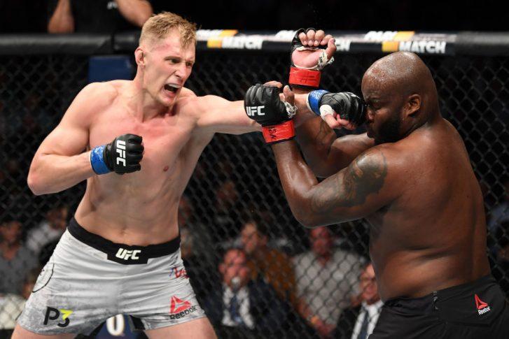 UFC 229:デリック・ルイス vs. アレクサンドル・ボルコフ【アメリカ・ネバダ州ラスベガス/2018年10月6日(Photo by Josh Hedges/Zuffa LLC/Zuffa LLC)】