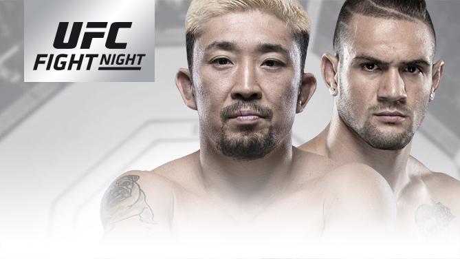 UFCファイトナイト・アデレード:廣田瑞人 vs. クリストス・ジアゴス【UFC】