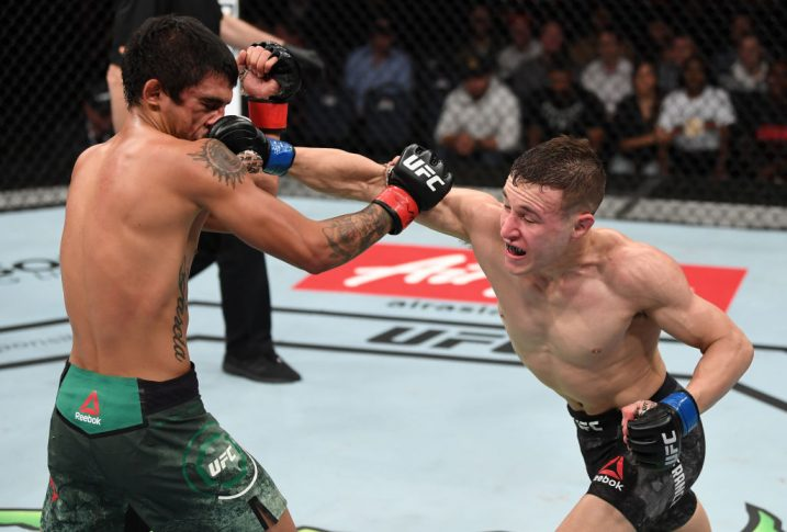 UFCファイトナイト・アデレード:イライアス・ガルシア vs. カイ・カラ・フランス【オーストラリア・アデレード/2018年12月2日(Photo by Jeff Bottari/Zuffa LLC/Zuffa LLC via Getty Images)】