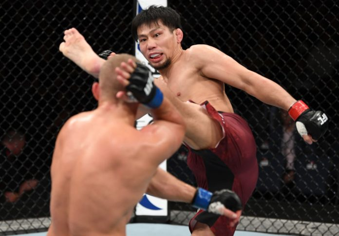 UFCファイトナイト・アデレード:中村K太郎 vs. サリム・トゥアリ【オーストラリア・アデレード/2018年12月2日(Photo by Jeff Bottari/Zuffa LLC/Zuffa LLC via Getty Images)】