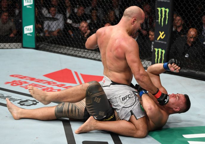 UFCファイトナイト・アデレード:ジュニオール・ドス・サントス vs. タイ・トゥイバサ【オーストラリア・アデレード/2018年12月2日(Photo by Jeff Bottari/Zuffa LLC/Zuffa LLC via Getty Images)】
