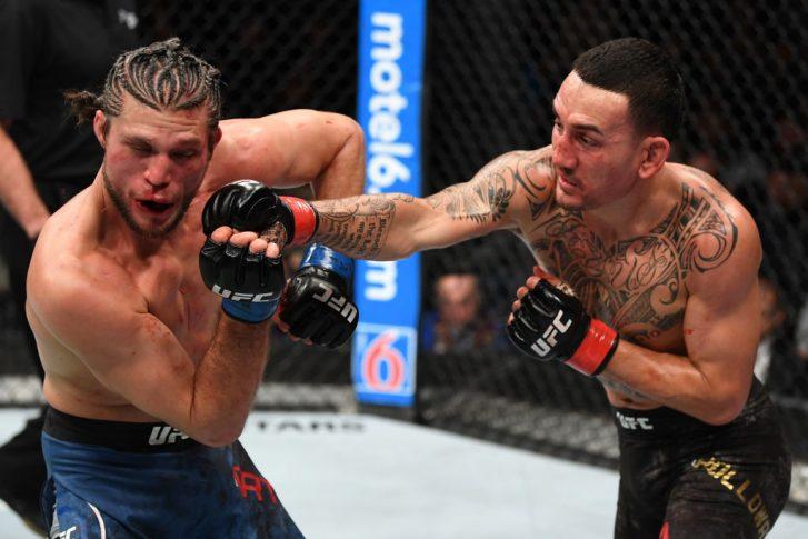 UFC 231:マックス・ホロウェイ vs. ブライアン・オルテガ【カナダ・オンタリオ州トロント/2018年12月8日(Photo by Josh Hedges/Zuffa LLC/Zuffa LLC via Getty Images)】
