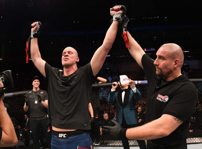 UFCファイトナイト・チェコ:ステファン・ストルーフェ vs. マルコス・ホジェリオ・デ・リマ【チェコ・プラハ/2019年2月23日(Photo by Jeff Bottari/Zuffa LLC/Zuffa LLC via Getty Images)】