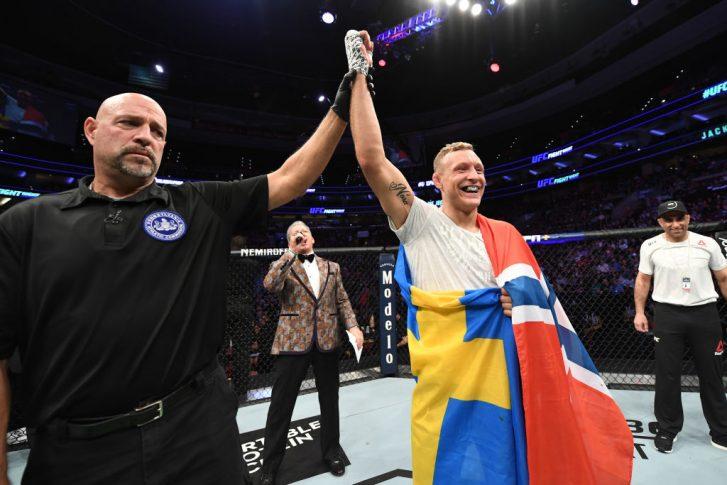 UFCファイトナイト・フィラデルフィア:デビッド・ブランチ vs. ジャック・ハーマンソン【アメリカ・ペンシルバニア州フィラデルフィア/2019年3月30日(Photo by Josh Hedges/Zuffa LLC/Zuffa LLC via Getty Images)】