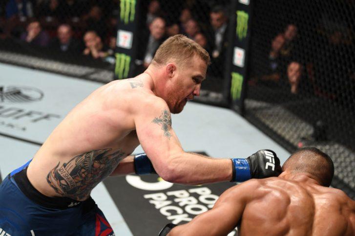 UFCファイトナイト・フィラデルフィア:エドソン・バルボーザ vs. ジャスティン・ゲイジー【アメリカ・ペンシルバニア州フィラデルフィア/2019年3月30日(Photo by Josh Hedges/Zuffa LLC/Zuffa LLC via Getty Images)】