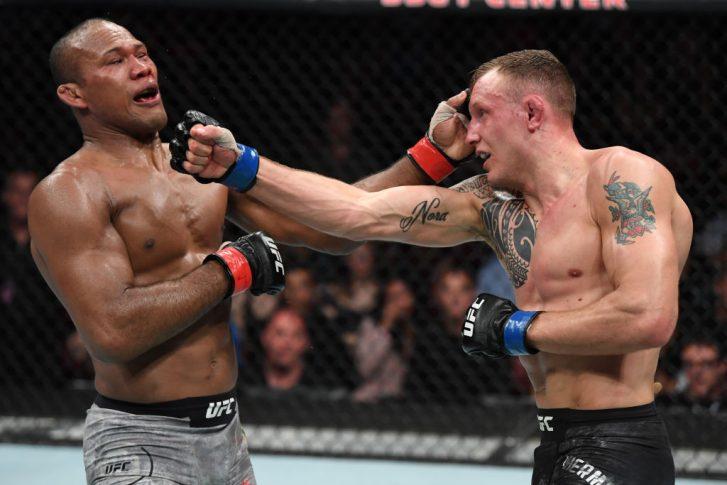 UFCファイトナイト・フロリダ:ジャカレ・ソウザ vs. ジャック・ハーマンソン【アメリカ・フロリダ州サンライズ/2019年4月27日(Photo by Jeff Bottari/Zuffa LLC/Zuffa LLC via Getty Images)】