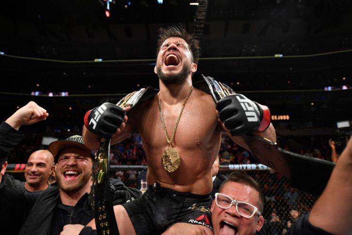 UFC 238:ヘンリー・セフード vs. マルロン・モラエス【アメリカ・イリノイ州シカゴ/2019年6月8日(Photo by Jeff Bottari/Zuffa LLC/Zuffa LLC via Getty Images)】