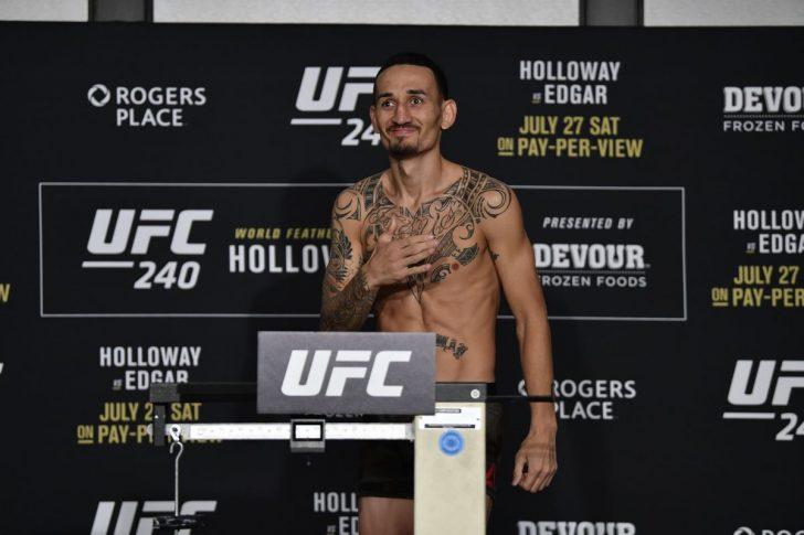 UFC 240:マックス・ホロウェイ【UFC】