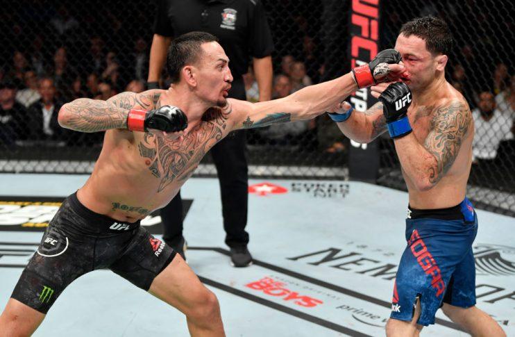 UFC 240:マックス・ホロウェイ vs. フランキー・エドガー【カナダ・アルバータ州エドモントン/2019年7月27日(Photo by Jeff Bottari/Zuffa LLC/Zuffa LLC)】