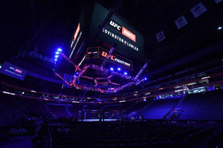 UFCファイトナイト・ニューアーク:オクタゴン【アメリカ・ニュージャージー州ニューアーク/2019年8月3日(Photo by Josh Hedges/Zuffa LLC/Zuffa LLC via Getty Images)】