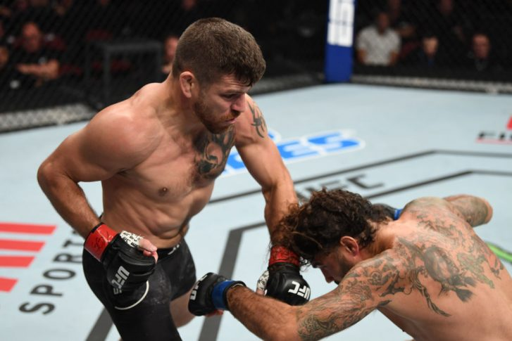 UFCファイトナイト・ニューアーク:ジム・ミラー vs. クレイ・グイダ【アメリカ・ニュージャージー州ニューアーク/2019年8月3日(Photo by Josh Hedges/Zuffa LLC/Zuffa LLC via Getty Images)】
