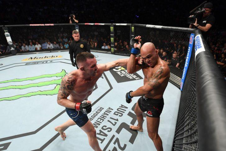 UFCファイトナイト・ニューアーク:コルビー・コビントン vs. ロビー・ローラー【アメリカ・ニュージャージー州ニューアーク/2019年8月3日(Photo by Josh Hedges/Zuffa LLC/Zuffa LLC via Getty Images)】