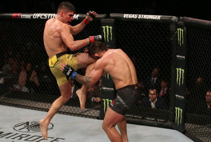 UFCファイトナイト・ウルグアイ:ビセンテ・ルーケ vs. マイク・ペリー【ウルグアイ・モンテビデオ/2019年8月10日(Photo by Alexandre Schneider /Zuffa LLC/Zuffa LLC)】