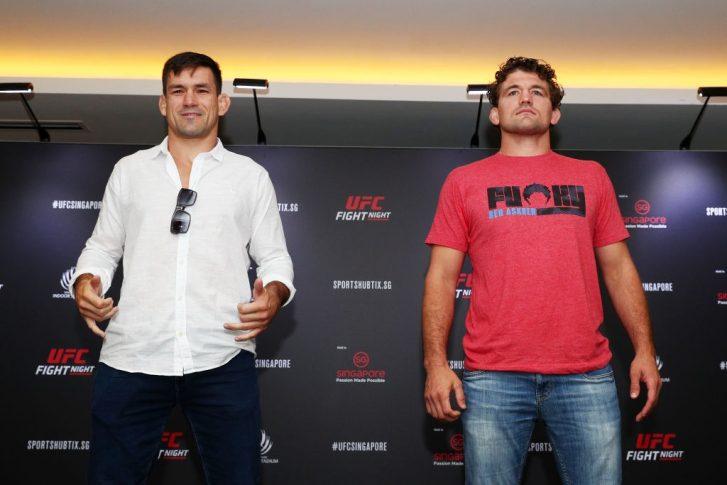 UFCファイトナイト・シンガポール:マイア vs. アスクレン【UFC】