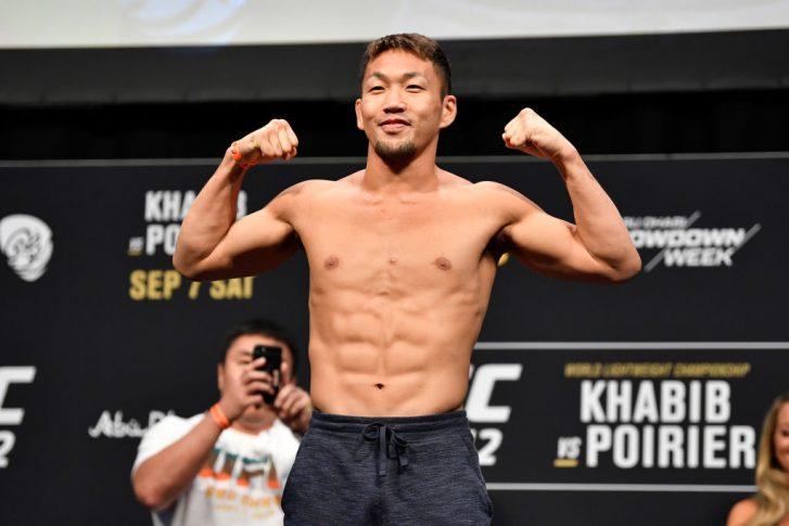 UFC 242:公式計量セレモニーに登場した佐藤天   UFC JAPAN