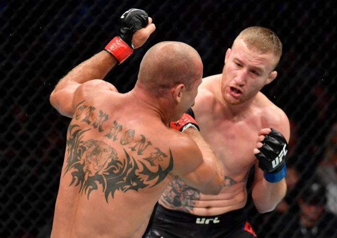 UFCファイトナイト・バンクーバー:ドナルド・セラーニ vs. ジャスティン・ゲイジー【カナダ・ブリティッシュコロンビア州バンクーバー/2019年9月14日(Photo by Jeff Bottari/Zuffa LLC/Zuffa LLC)】