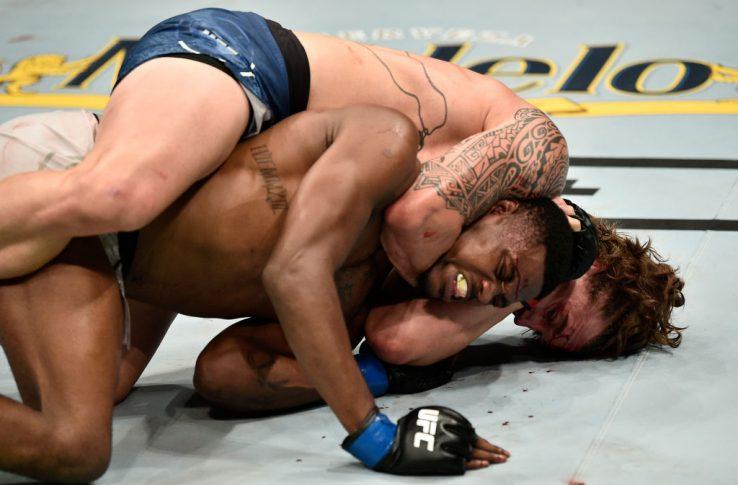 UFCファイトナイト・ボストン:ブレンダン・アレン vs. ケビン・ホランド【アメリカ・マサチューセッツ州ボストン/2019年10月18日(Photo by Chris Unger/Zuffa LLC via Getty Images)】