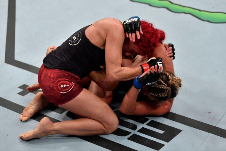 UFCファイトナイト・シンガポール:ランダ・マルコス vs. アシュリー・ヨーダー【シンガポール・シンガポール/2019年10月26日(Photo by Jeff Bottari/Zuffa LLC via Getty Images)】