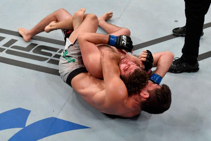 UFCファイトナイト・シンガポール:デミアン・マイア vs. ベン・アスクレン【シンガポール・シンガポール/2019年10月26日(Photo by Jeff Bottari/Zuffa LLC via Getty Images)】