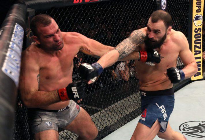 UFCファイトナイト・サンパウロ:マウリシオ・フア vs. ポール・クレイグ【ブラジル・サンパウロ州パライーゾ/2019年11月16日(Photo by Alexandre Schneider/Zuffa LLC via Getty Images)】